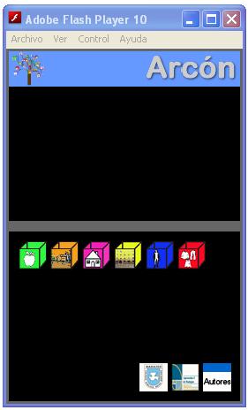 Captura de la pantalla de Arcón