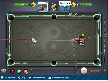 Cheat 8 Ball Poll Line Hack atau Garis Update Juli 2013