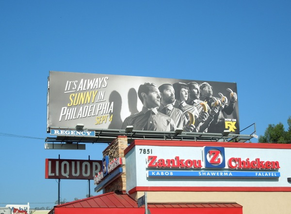 Always Sunny Philadelphia season 9 billboard