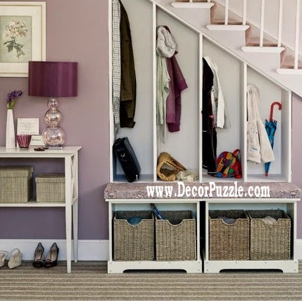 Innovative under stairs storage ideas and solutions, under stairs wardrobe and cupboard