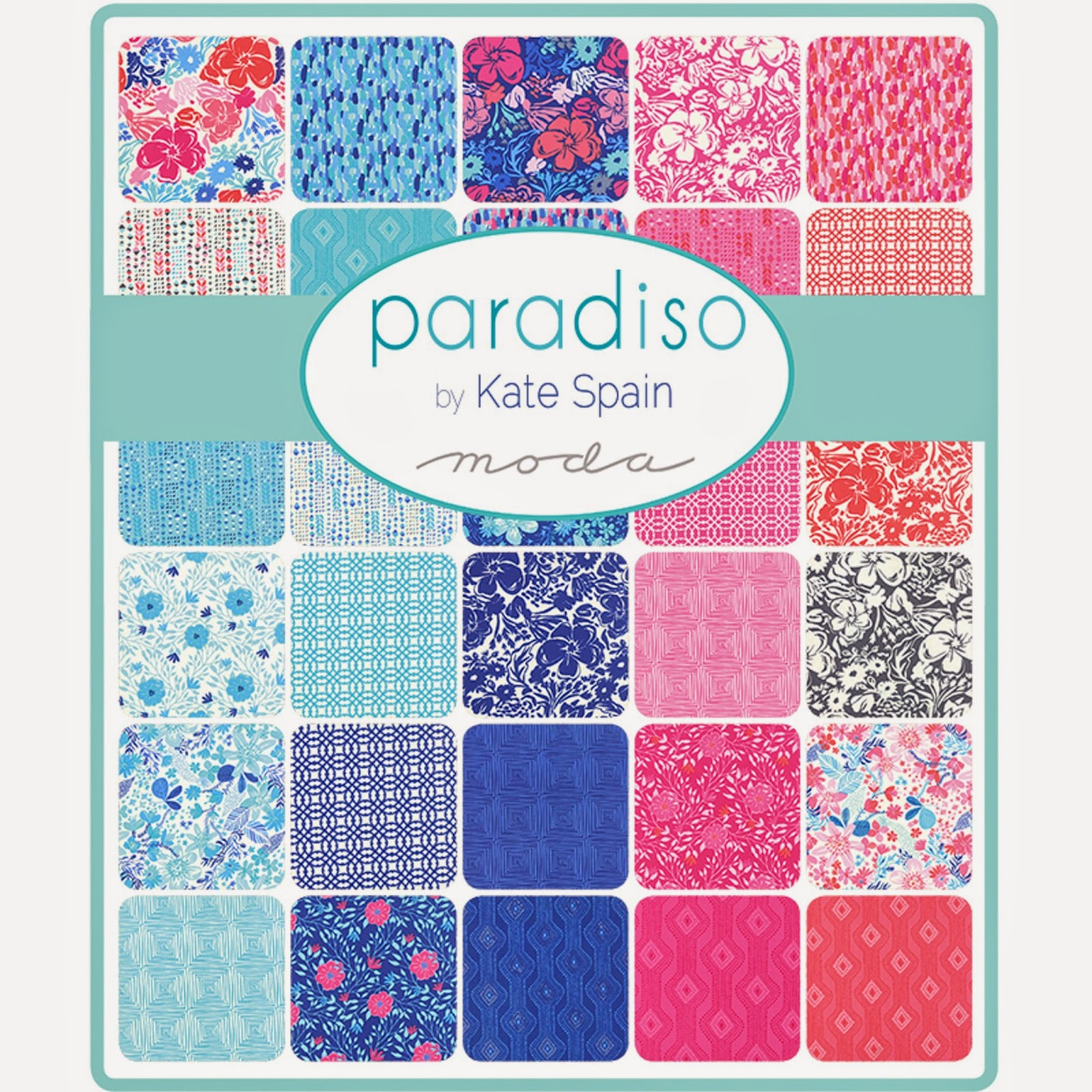 Moda PARADISO Fabric by Kate Spain for Moda Fabrics