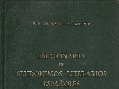 Diccionario de Seudónimos Literarios Españoles