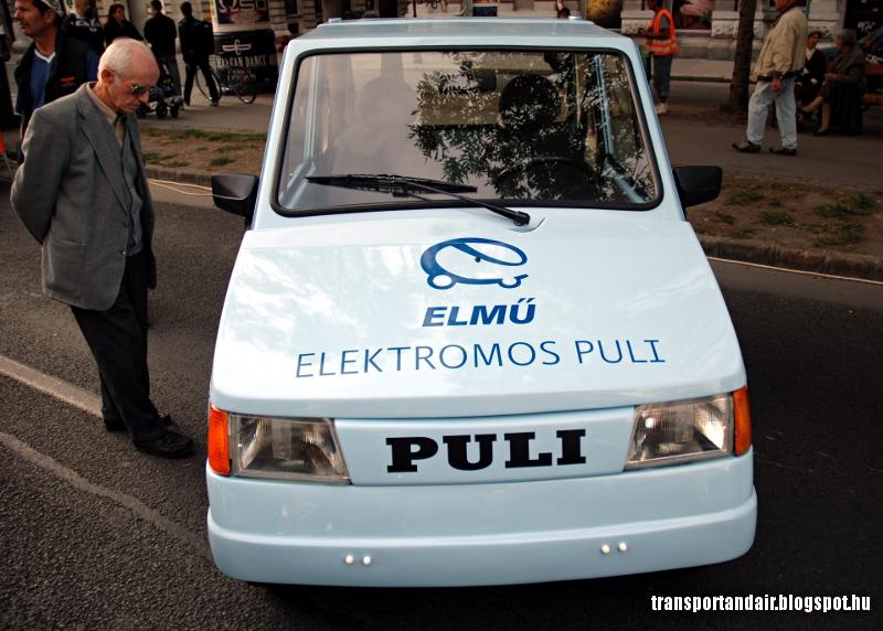 Az ELMŰ elektromos Puli,Fémkutyája az Andrássy úton,Budapesten www.transportandair.blogspot.hu