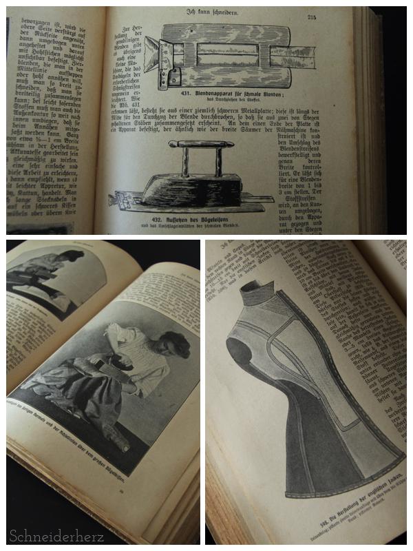 Ich kann schneidern 1908 Detail 1