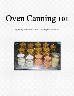 Oven Canning 101