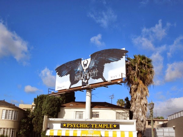 Maleficent special wings billboard