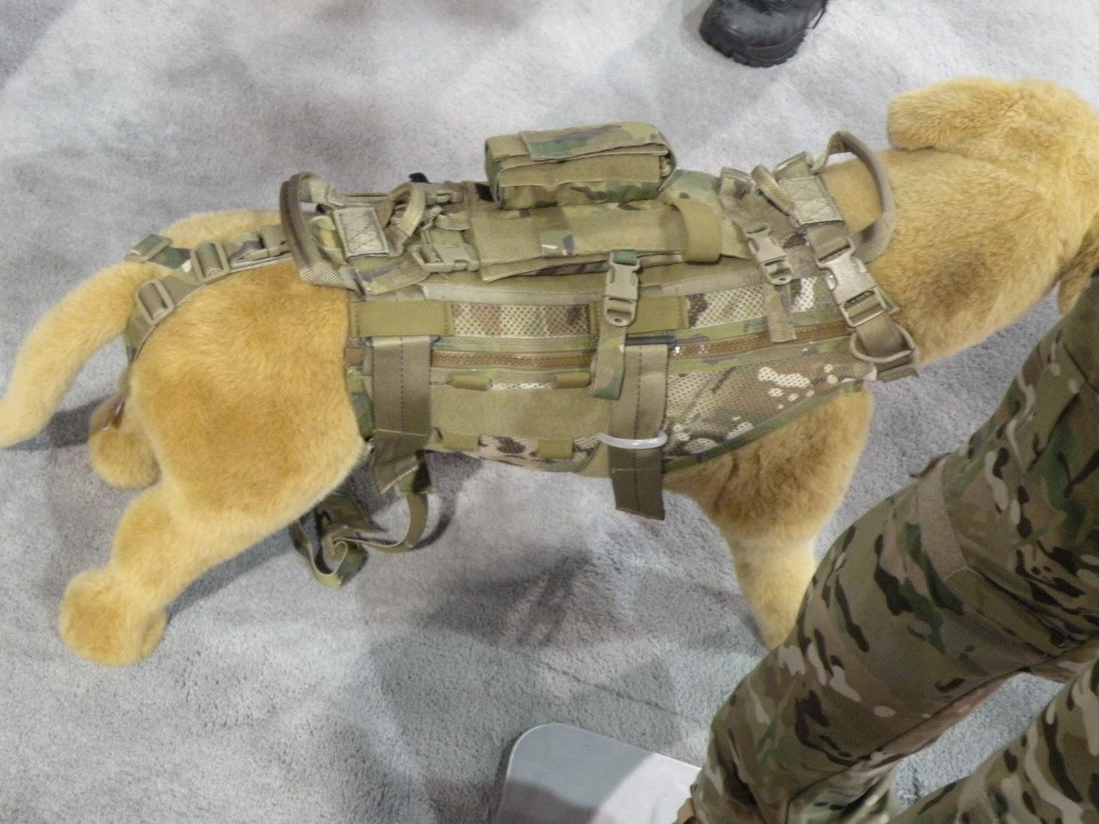 Tactical dog vest - photo#14