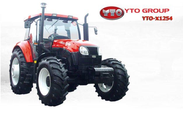 ArTrak traktörden yeni model YTO marka X1254 özellikleri resimleri
