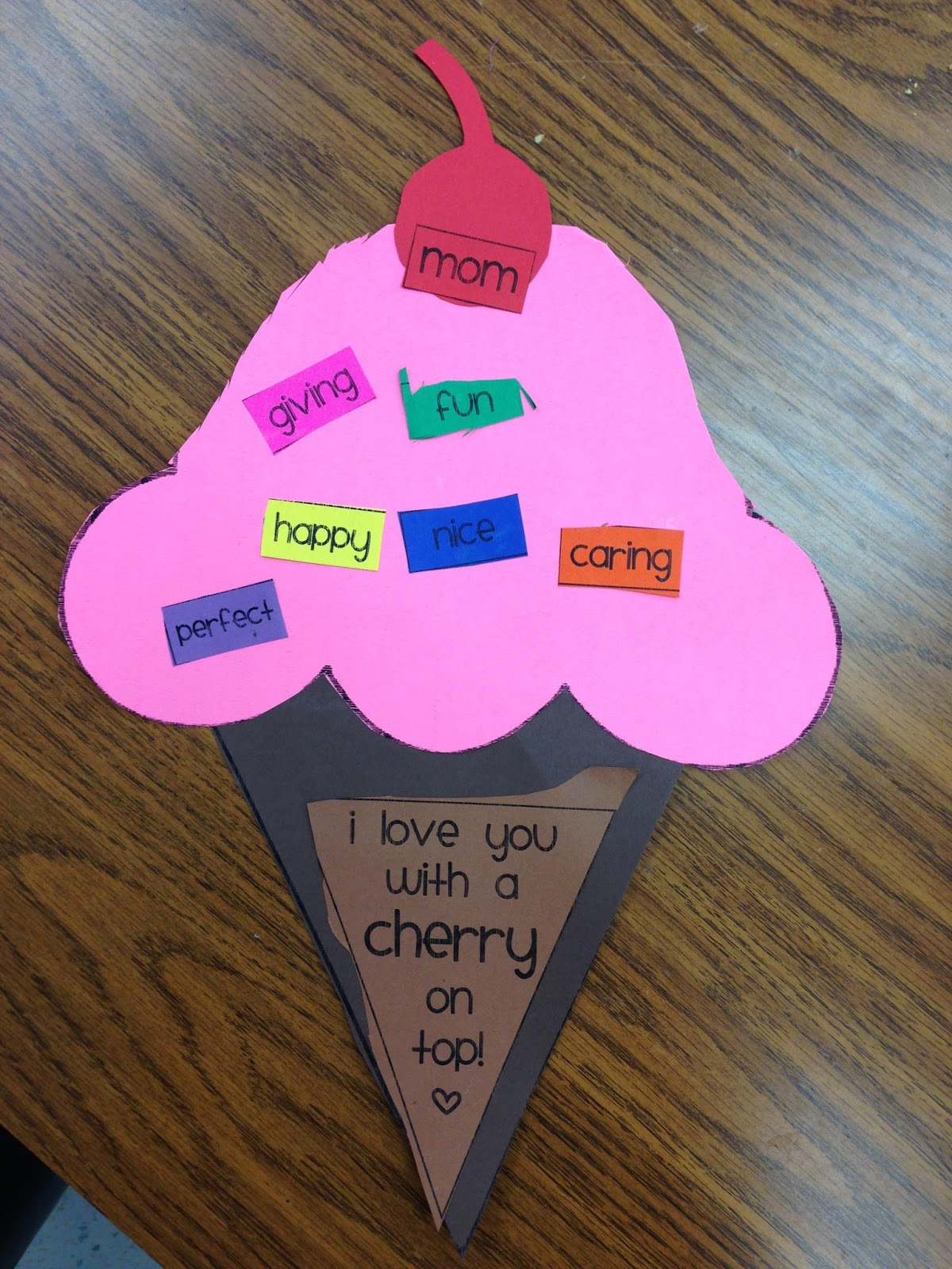 Kindergarten smiles mother s day crafts