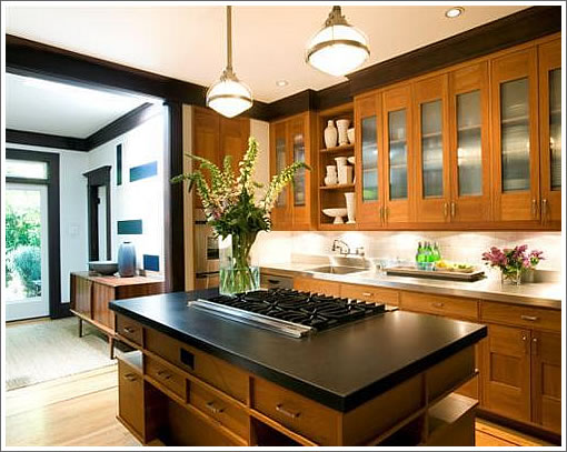 The Granite Gurus: Design Style Week: 10 Craftsman Style Kitchens