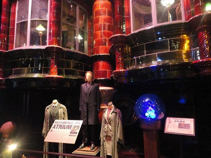 Ministério da Magia - Visitando os Estúdios de Harry Potter em Londres