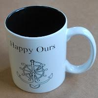 Boat name coffee mug