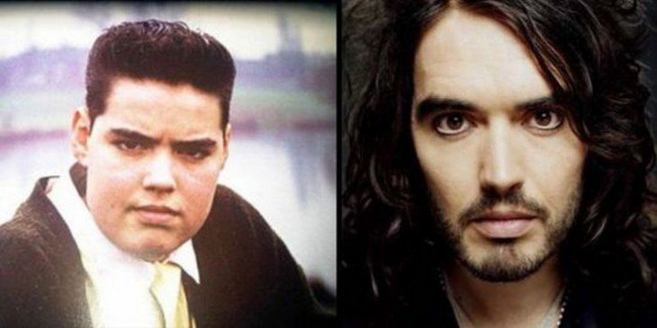 Russell Brand  Russell Brand antes de ser famoso