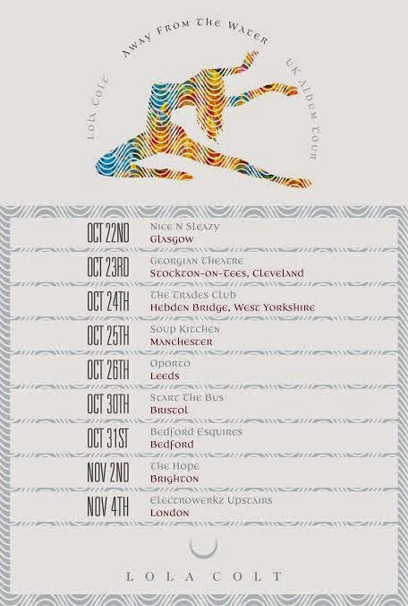 Lola Colt debut album UK tour Autumn