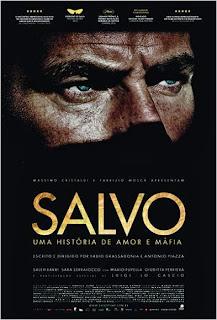 """Poster do filme """"Salvo - Uma História de Amor e Máfia"""""""