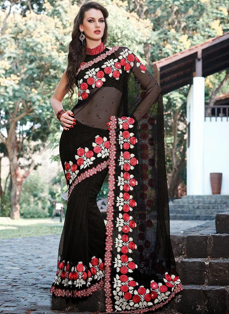http://www.cbazaar.com/party-wear-saree/dazzling-diva/majestic-look-black-net-saree-p-saspat2210.html