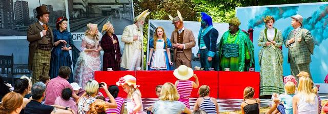 Alice's Adventures in Wonderland - Opera Holland Park - 2014,  photo credit Alex Brenner