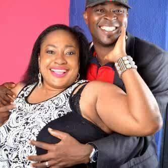 Actress Foluke Daramola's husband grabs her boobs in new photo