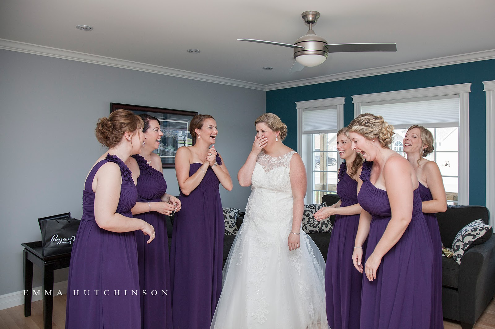 Weddings in Grand Falls-Windsor photographed by Emma Hutchinson Photography