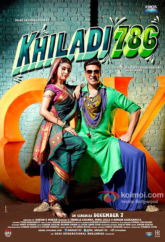 Khiladi 786 (2012) HD Full movie free download - SBBITZS