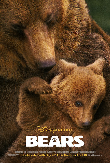 "Disneynature's new True Life Adventure ""Bears"" Poster"