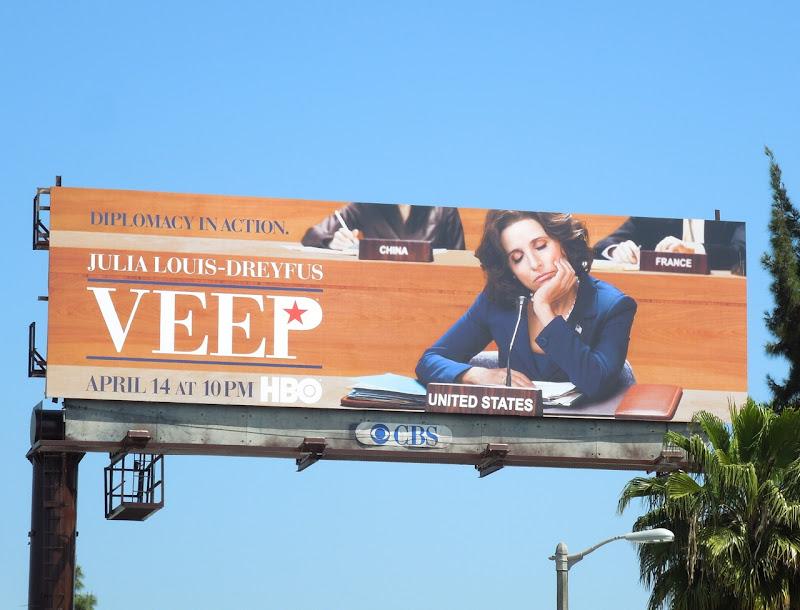 Veep season 2 HBO billboard