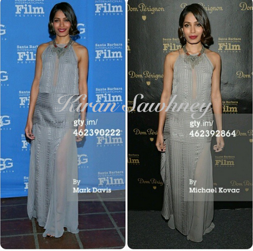 Freida Pinto at 30th Santa Barbara film festival
