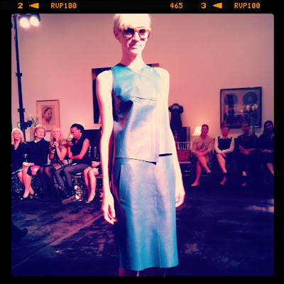Derek Lam spring 2013 collection modeled by Kel at FactorWomen
