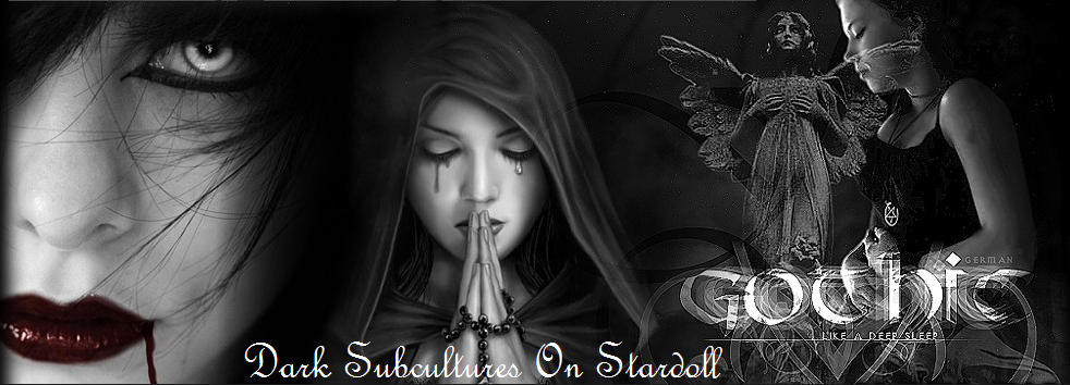 Dark Subcultures on Stardoll