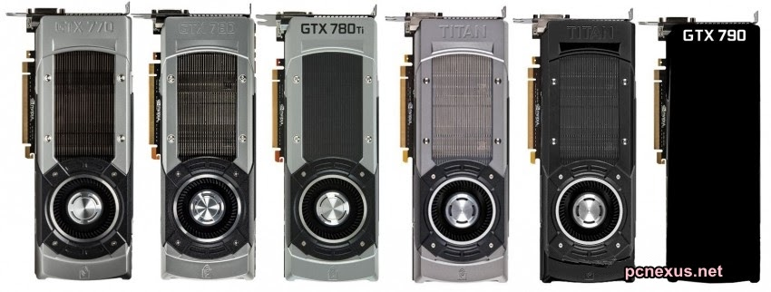 nvidia titan black edition and gtx 790 specs leaked