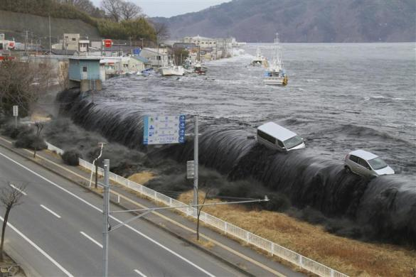 Japan Tsunami Pictures - Before and After