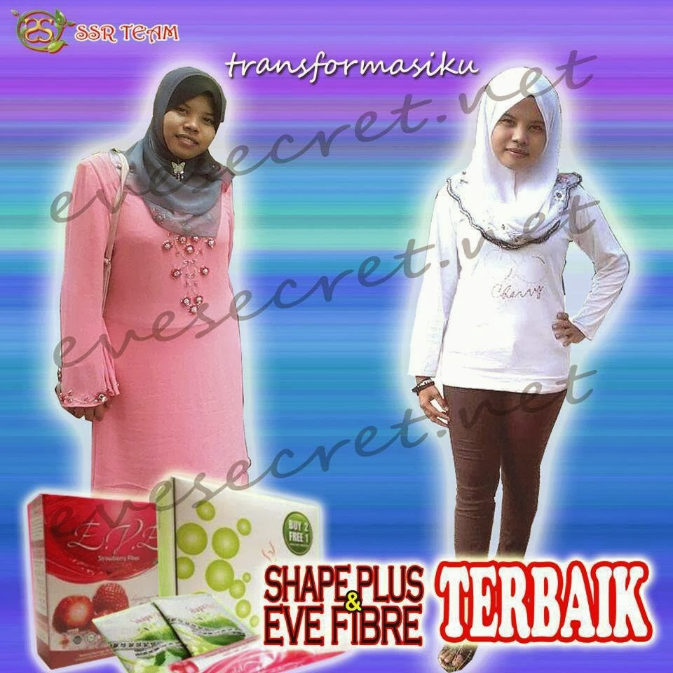 testimoni shape plus & eve fiber