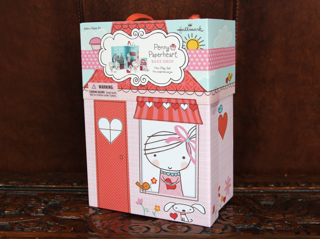Hallmark Penny Paperheart Bake Shop Mini Play Set - Diana #LoveHallmarkCA