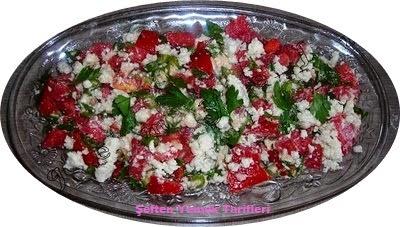 lorlu salata evde loryapılışı