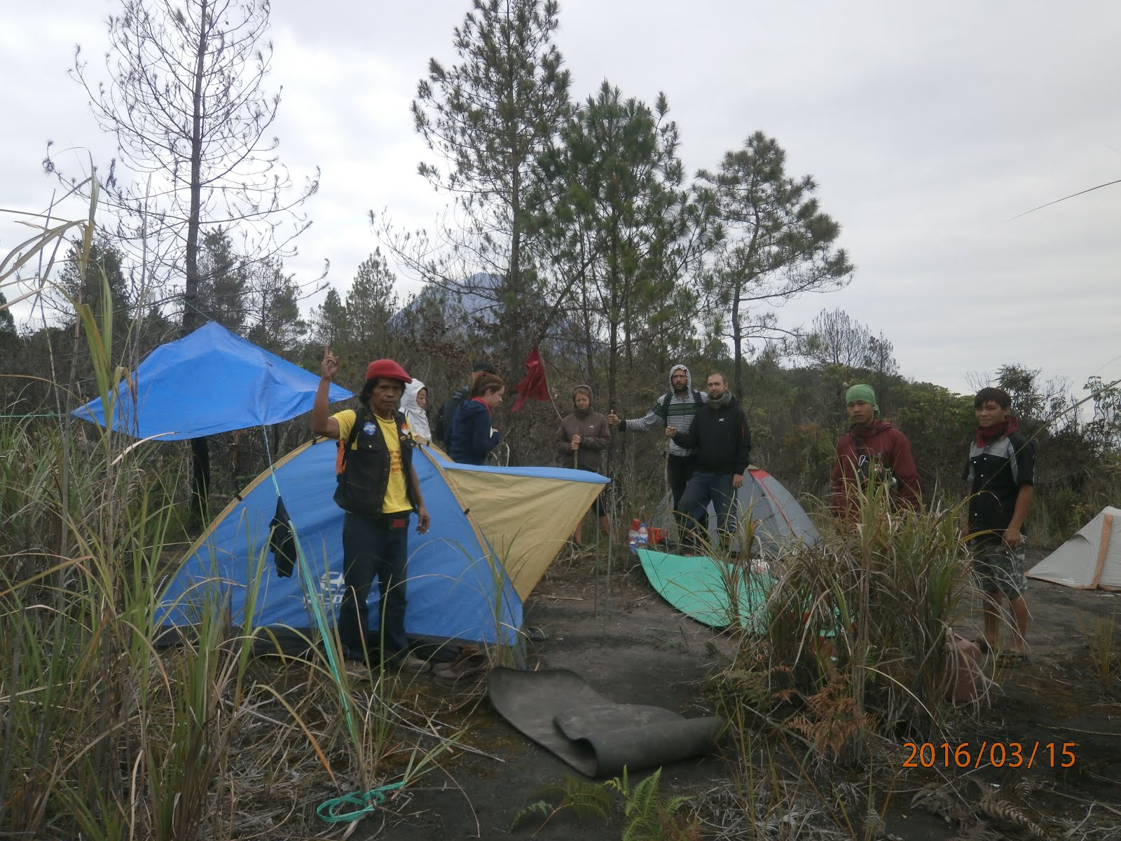 volcanoes adventure and  camping tour