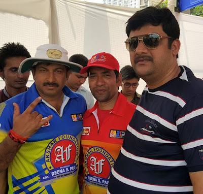 Majoj Tiwari and Dinesh Lal Yadav Nirahua