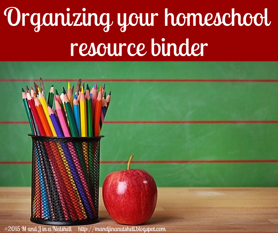 homeschool resource binder