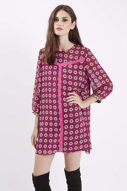 Native Rose pink dress