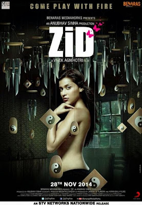 Zid 2014 Hindi BRRip 480p 350MB