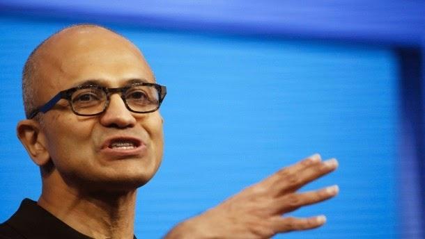 Ο επικεφαλής της Microsoft Nadella στο Συνέδριο των προγραμματισμών της εταιρίας