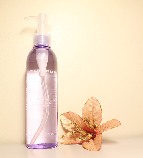 Cyber Colors Green Tea & Lavender Cleansing Oil