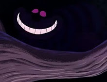 The Cheshire Cat, going.