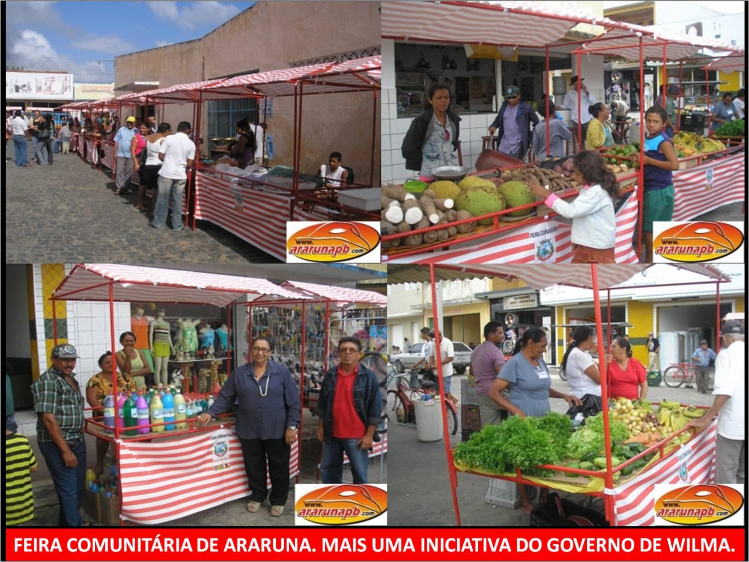 às atividades comerciais livres projeto feira livre comunitária #BD100E 1502 1127