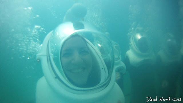 under the ocean, fun, how to sea trek