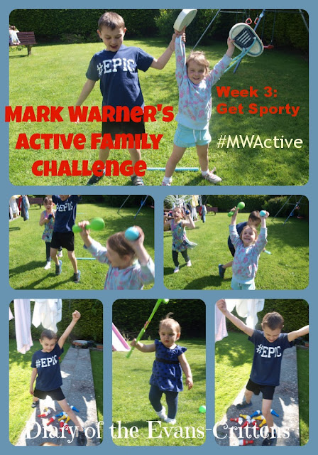 Mark Warner Active Family, Get Sporty, race, family, fun, badminton, golf,