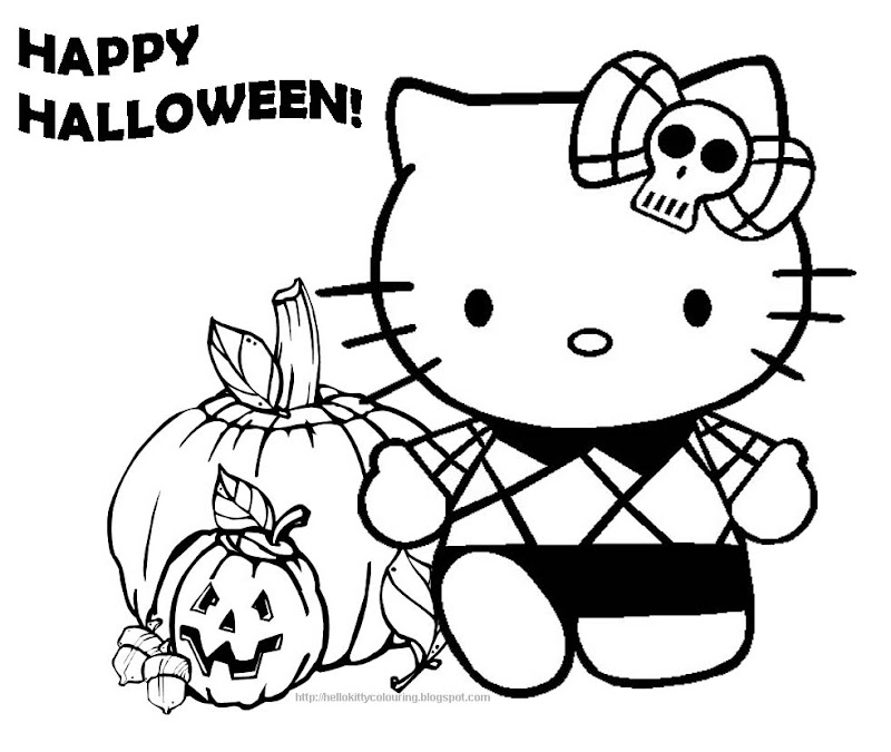 HELLO KITTY HALLOWEEN title=