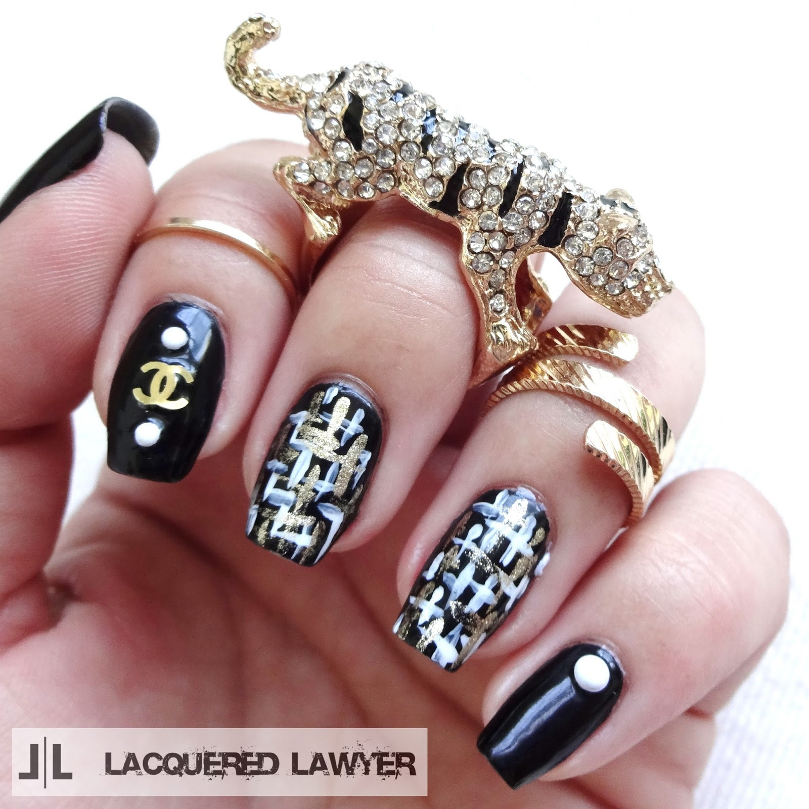 Lacquered Lawyer Nail Art Blog Chanel Chic