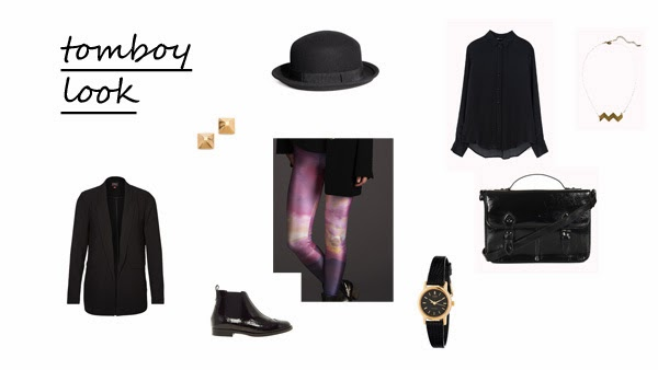 5 ways to wear print leggings tomboy look