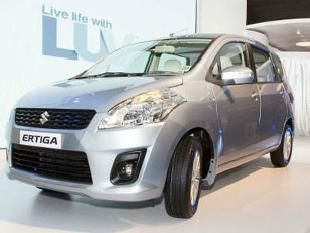 Maruti launches CNG Ertiga