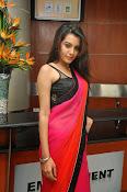 Deeksha panth sizzling saree stills-thumbnail-20